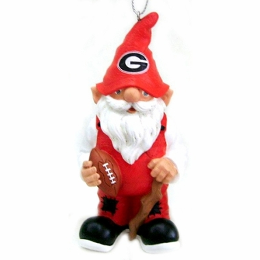 Georgia Gnome Christmas Ornament