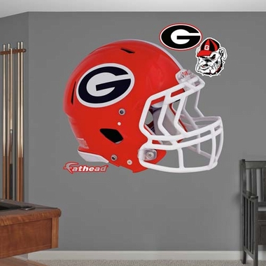 Georgia Helmet Fathead Wall Graphic