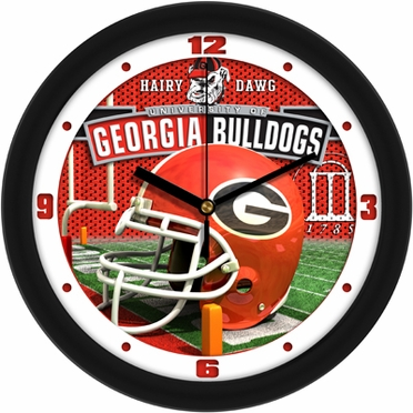 Georgia Helmet Wall Clock