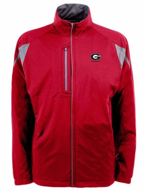 Georgia Mens Highland Water Resistant Jacket (Team Color: Red)