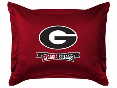Georgia Jersey Material Pillow Sham