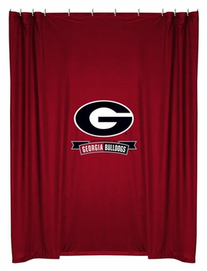 Georgia Jersey Material Shower Curtain