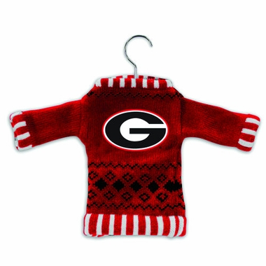 Georgia Knit Sweater Ornament (Set of 3)