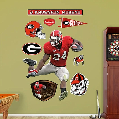 Georgia Knowshon Moreno Fathead Wall Graphic