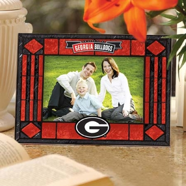 Georgia Landscape Art Glass Picture Frame
