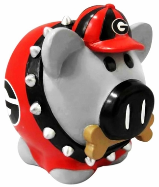 Georgia Bulldogs Piggy Bank - Thematic Large