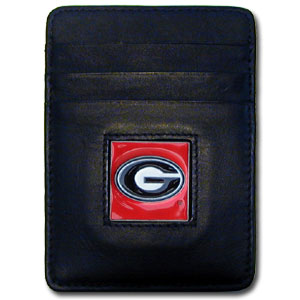 Georgia Leather Money Clip