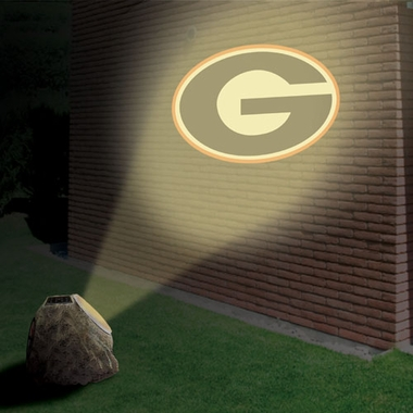 Georgia Logo Projection Rock