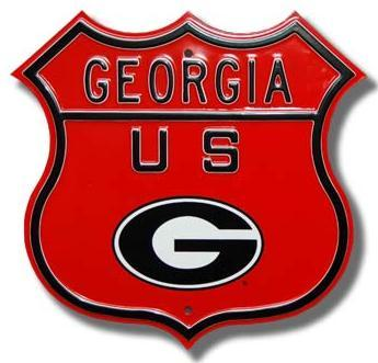 Georgia Logo Route Sign