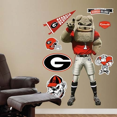 Georgia Mascot Fathead Wall Graphic
