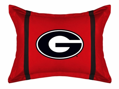 Georgia MVP Microsuede Pillow Sham