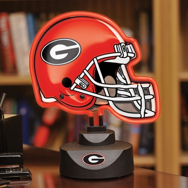 Georgia Neon Display Helmet