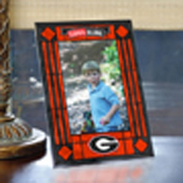 Georgia Portrait Art Glass Picture Frame