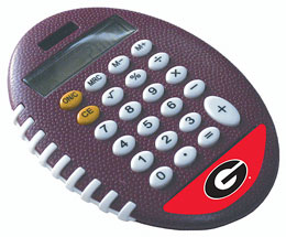 Georgia Bulldogs Pro-Grip Calculator