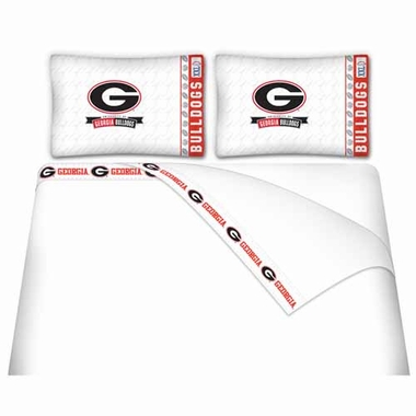 Georgia Queen Sheet Set