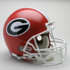 Georgia Bulldogs Riddell Full Size Authentic Helmet