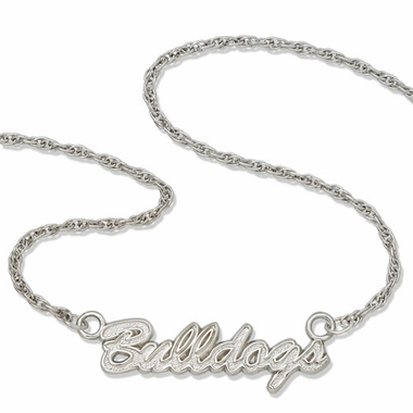 Georgia Script Necklace