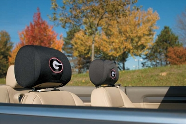 Georgia Set of 2 Headrest Covers (F)