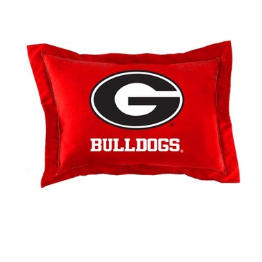 Georgia Set of 2 Pillow Cases (Team Color)