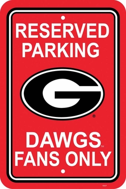 Georgia Plastic Parking Sign (P)
