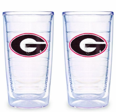 Georgia Set of TWO 16 oz. Tervis Tumblers