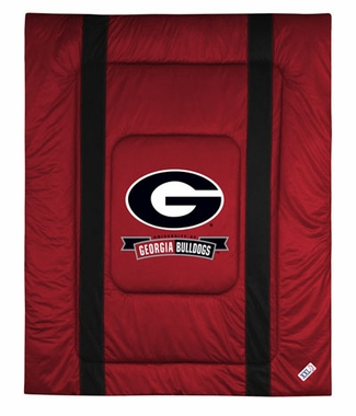 Georgia SIDELINES Jersey Material Comforter