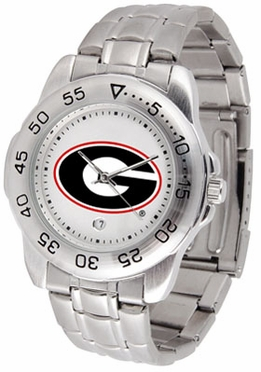 Georgia Sport Men's Steel Band Watch