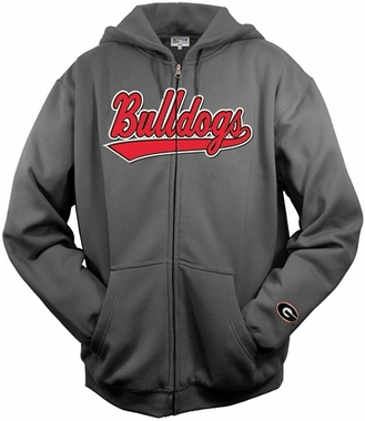Georgia Tailsweep Charcoal Hooded Sweatshirt