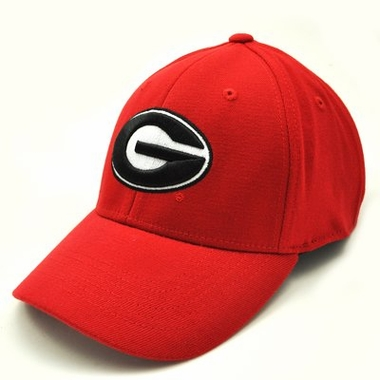 Georgia Team Color Premium FlexFit Hat