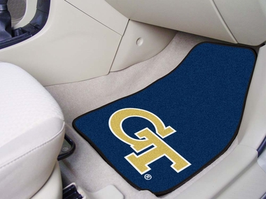 Georgia Tech 2 Piece Car Mats