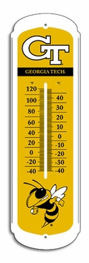 Georgia Tech 27 Inch Outdoor Thermometer (P)