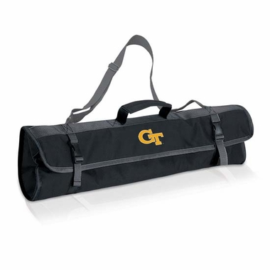 Georgia Tech 3 Piece BBQ Tote (Black)