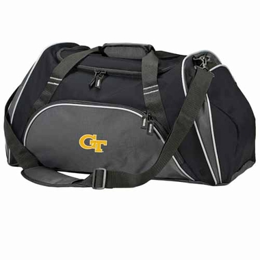 Georgia Tech Action Duffle (Color: Black)