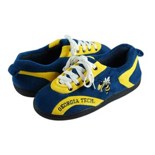 Georgia Tech All Around Sneaker Slippers - Large