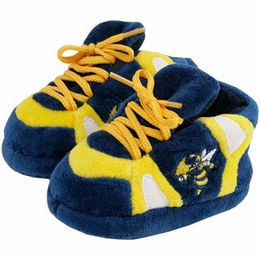 Georgia Tech Baby Slippers