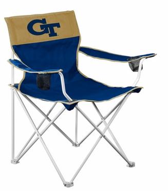 Georgia Tech Big Boy Adult Folding Logo Chair