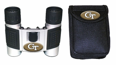 Georgia Tech Binoculars and Case
