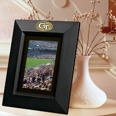 Georgia Tech BLACK Portrait Picture Frame