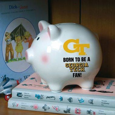 Georgia Tech (Born to Be) Piggy Bank