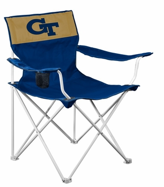 Georgia Tech Canvas Adult Folding Logo Chair