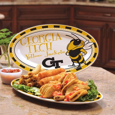 Georgia Tech Ceramic Platter