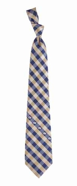 Georgia Tech Check Poly Necktie