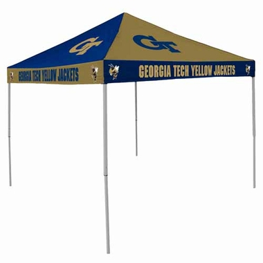 Georgia Tech Checkerboard Tailgate Tent