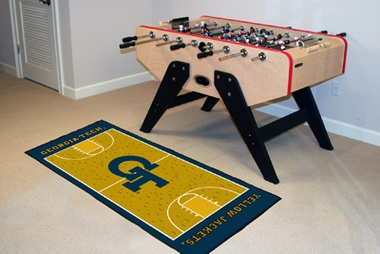Georgia Tech Court Runner Rug