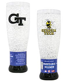 Georgia Tech Crystal Pilsner Glass