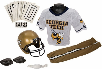 Georgia Tech Deluxe Youth Uniform Set