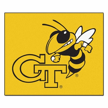 Georgia Tech Economy 5 Foot x 6 Foot Mat
