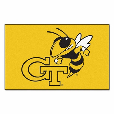 Georgia Tech Economy 5 Foot x 8 Foot Mat
