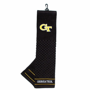 Georgia Tech Embroidered Golf Towel