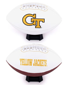 Georgia Tech Full Size Embroidered Football